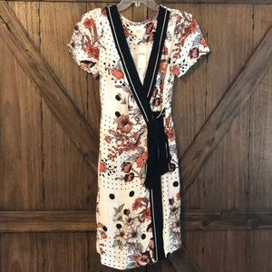 Anthropologie Dresses - Wrap dress by Maeve for Anthropologie